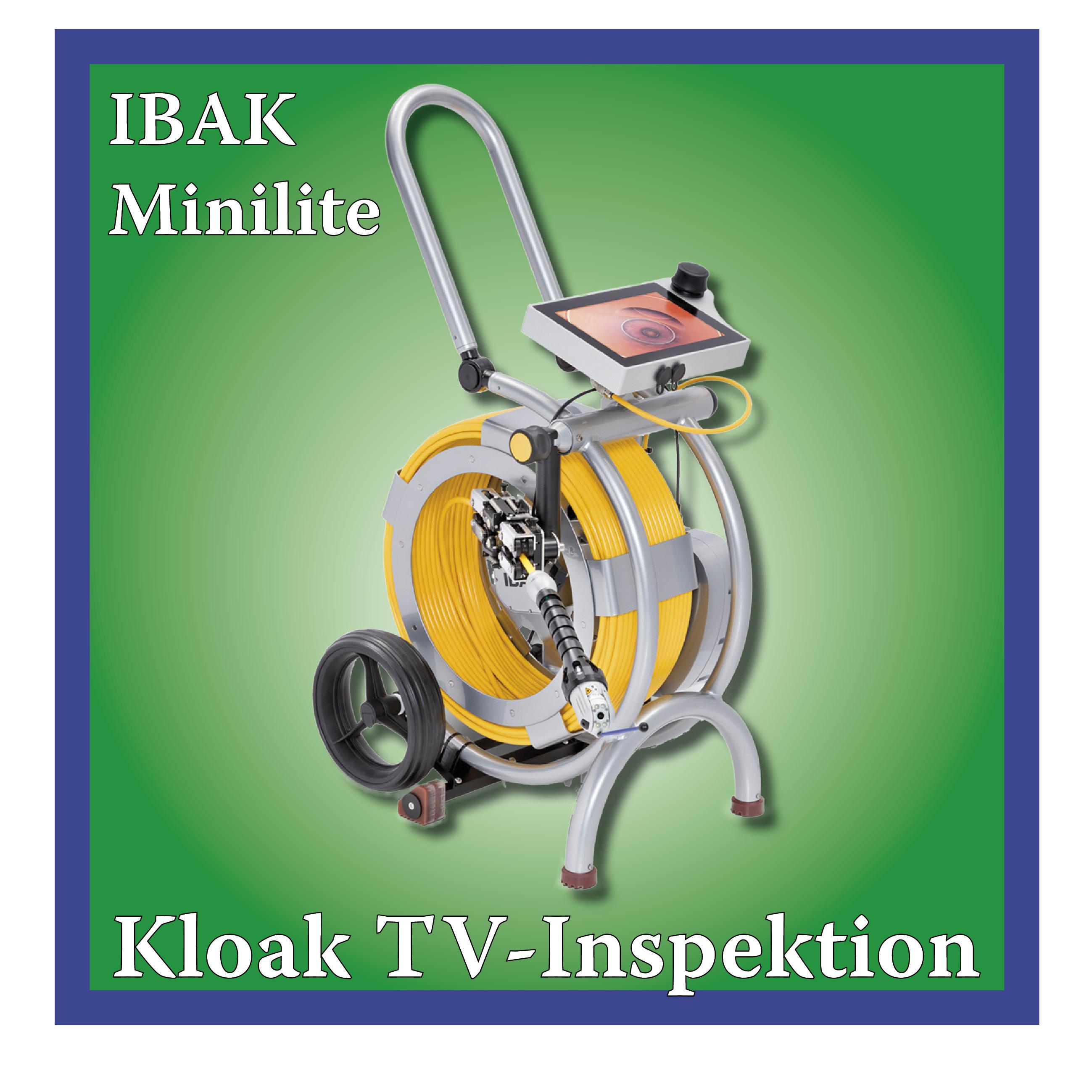 Billede af TV-udstyr til kloakinspektion